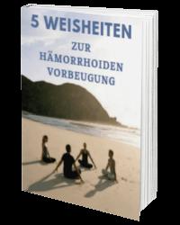 Ein E-Book zur Hämorrhoiden Behandlung und Vorbeugung
