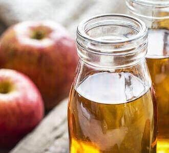 Apfelessig-eine Linderung für Hämorrhoiden