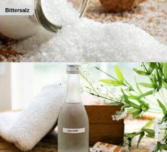 Bittersalz und Glycerin ist eine Hämorrhoiden Behandlung für Zuhause
