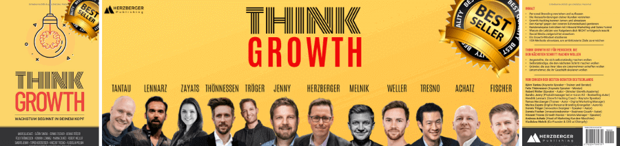 Buch Cover Think Growth von Andreas Achatz