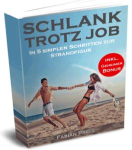 Buchcover Schlank Trotz Job von Fabian Prell